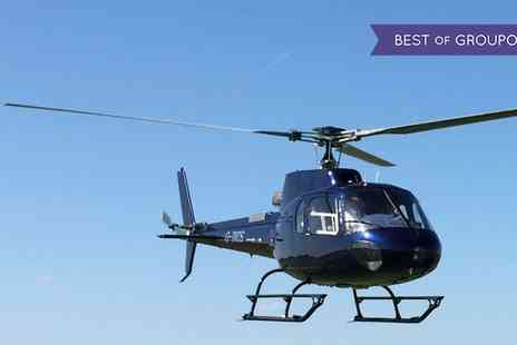 Heli Adventures - Cardiff Coastline Helicopter Tour - Save 64%