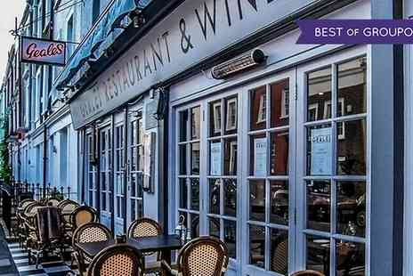 Geales Restaurant - Two Course Lunch for Two or Four with Optional Glass of Prosecco - Save 42%
