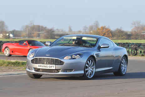 Driving Gift - One hour Aston Martin DB9 thrill driving experience - Save 61%