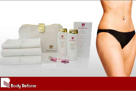 Body Reform - Body Reform Super Contour Treatment Pack, cellulite-busting kit - Save 71%