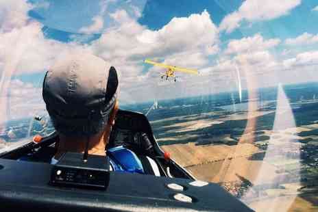 Bicester Gliding Centre - Motor Gliding Lesson with Three Month Membership - Save 74%