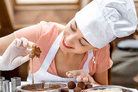 Deli Cious Chocolate - Three hour chocolate making workshop for one person - Save 52%