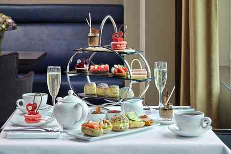 London Hilton on Park Lane - Chocolate Afternoon Tea with an Optional Glass of Champagne for Two - Save 45%