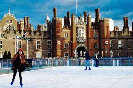 Hampton Court Palace - 45 Minute Ice Skating Session for a Child, Adult or Family - Save 21%