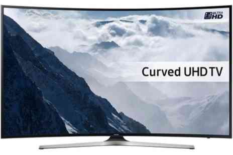 Groupon Goods Global GmbH - Samsung UE49KU6100 Smart 4K Ultra HD HDR 49 Inch Curved LED TV - Save 8%