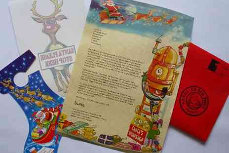 Festive Touch - Personalised Santa letter - Save 54%