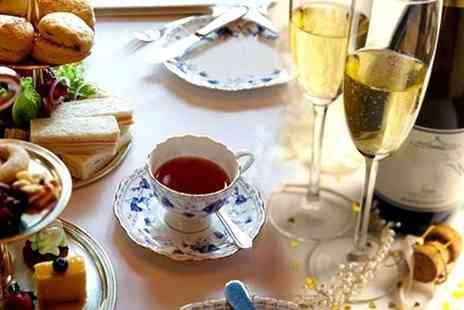 Lion Rock Tea Rooms - Festive Afternoon Tea for Two or Four - Save 55%