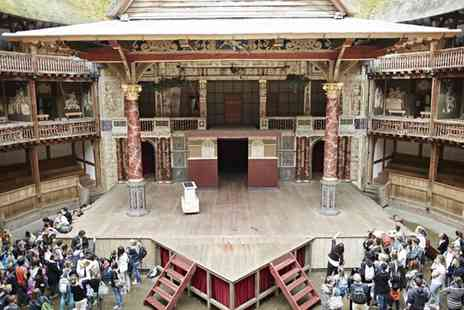 Shakespeare's Globe Theatre - Exhibition and Tour on 28 November to the 26 February - Save 33%