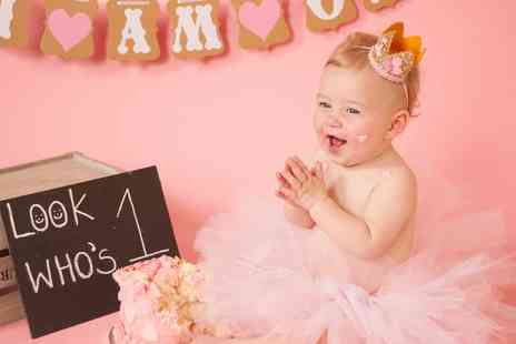 Always Remember Photography - Cake Smash and Splash Photoshoot - Save 85%