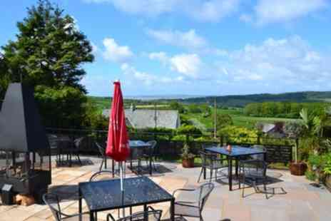 Uplands Hotel - One or Two Nights Stay for Two with Breakfast and Options for a Food and Drink Credit, Dinner and Wine - Save 38%