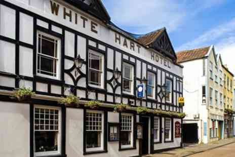 The White Hart - Five Course Tasting Menu Dinner for Two - Save 57%