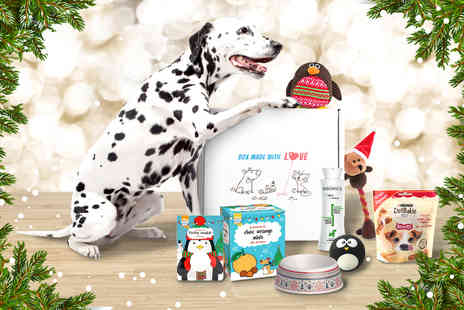 Animal Box - Limited edition Christmas Pawsomebox or Purrfectbox - Save 52%