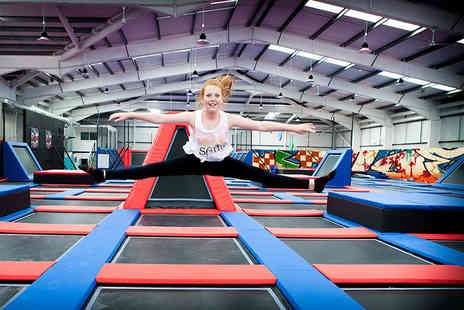 Energi Trampoline Park - One hour entry to Energi Trampoline Park - Save 45%