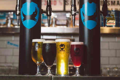BrewDog - Tutored craft beer tasting experience for two with a selection of cheese and meats - Save 50%