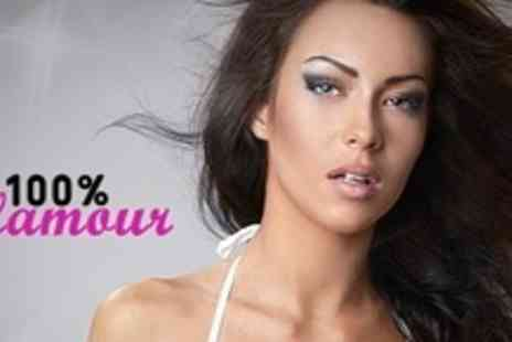 100% Glamour - Haircut With Deep or LOreal Fiberceutic - Save 60%