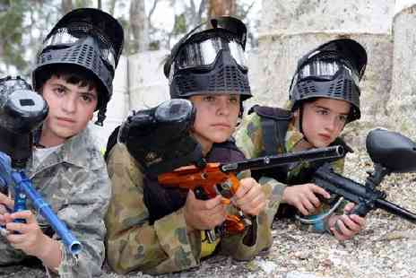 Nationwide Paintball - Paintball for Groups of Up to 20 People - Save 0%