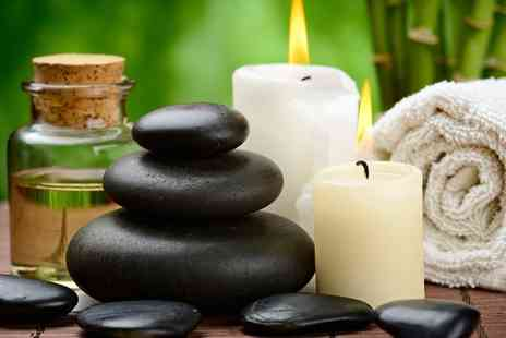 Therapy Zone - 60 Minute Bamboo or Hot Stone Massage with Head Massage - Save 42%