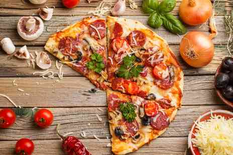 Mondello - Pizza or Pasta Main with Wine for Two or Four - Save 57%