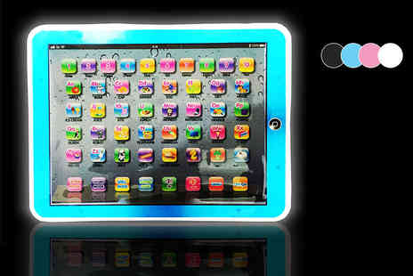 eOutlet - LED childrens tablet choose from four colours - Save 65%