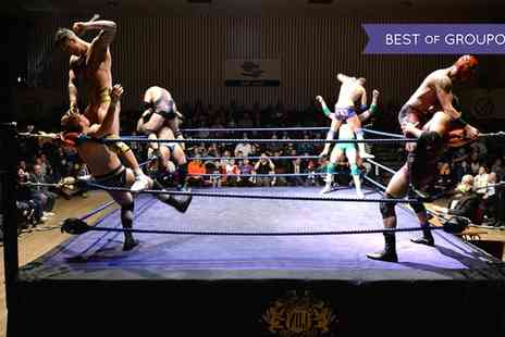 LDN Wrestling - One, two or a family of four ticket to LDN Wrestling Choice of Date and Location - Save 38%