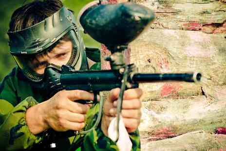 Frontline Paintball - Paintball with 100 Paintballs for Up to 15 - Save 93%