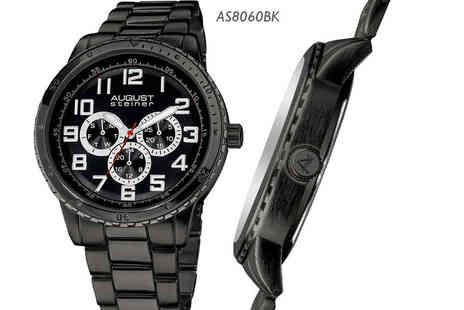 Buy Bay - Mens August Steiner AS8060 watch Choose from five designs - Save 83%