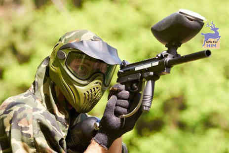 Mayhem South East - Paintballing day for five including 100 paintballs each - Save 82%