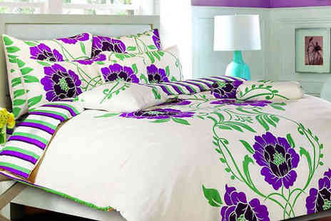luxury bed and warehouse - Shelly Duvet Bedding Set in 2 Colours - Save 73%