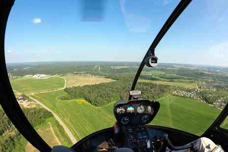 Hields Aviation - Six Mile Helicopter Buzz Flying Experience - Save 50%