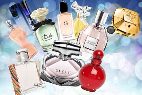 Deals Direct - Deluxe Secret Scents Mystery Deal for products include Dior, Armani, D&G, Gucci, Jean Paul Gautier, DKNY, Britney Spears, Katy Perry and more - Save 0%