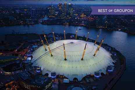 Greenwich - The O2 Winter Climbing Experience with Photo in Frame and £5 Groupon Credit - Save 30%