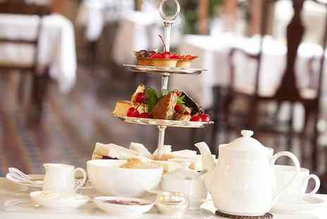 Bredbury Hall Hotel - Sparkling Afternoon Tea for Two or Four - Save 53%