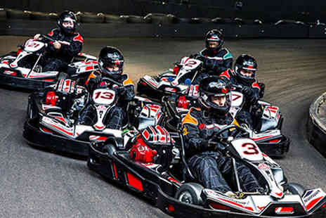 Activity Superstore - 30 minutes of go karting for two people with Activity Superstore - Save 7%