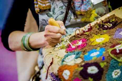 Olympia - Ticket to The Spring Knitting & Stitching Show on 2 To 5 March 2017 - Save 23%