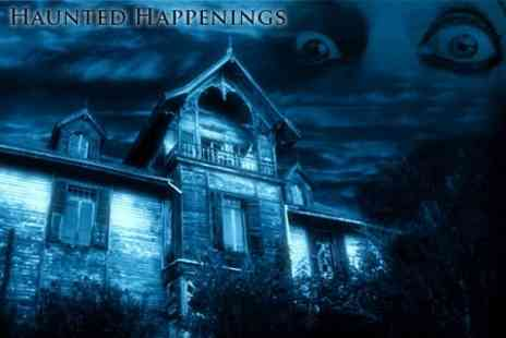 Haunted Happenings - Overnight Ghost Hunting in Haunted Victorian School £22 - Save 55%