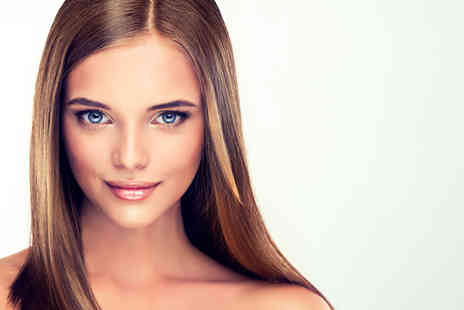 Claudias Hair and Beauty - Cut and blow dry with half head foil highlights or full head colour tinting - Save 71%
