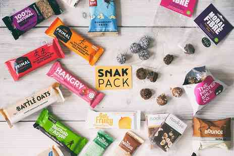 Snak Pack - Seven snack Nibble box or 14 snack Muncher box - Save 59%