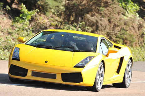 Buyagift - Lamborghini or Aston Martin thrill driving experience - Save 34%