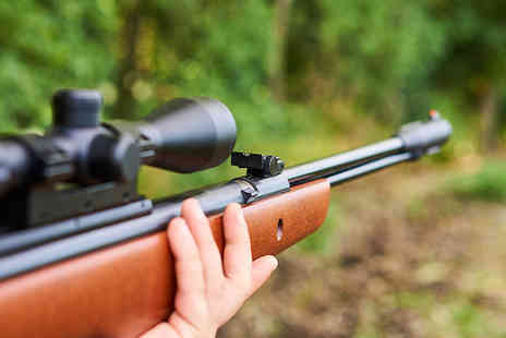 1066 Target Sports - Two hour Introduction to Air Rifle course for one - Save 72%