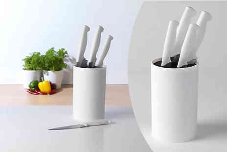 Chums - Four piece Belmont knife block - Save 67%