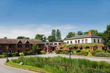 Bredbury Hall Hotel - One Night Stay for Two with Breakfast, Dinner and Night Club Entry - Save 0%