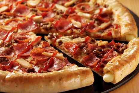 Pizza Hut - £30 Toward Food Pizza Hut - Save 47%