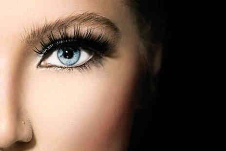 Fabulous Nails & Beauty - Full set of semi permanent individual eyelash extensions - Save 75%