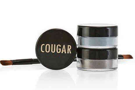 Cougar Beauty Products - Mineral Eyeshadow Trio and Brush Kit Four Colours - Save 69%