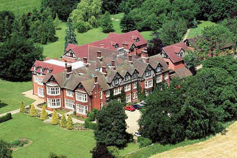 Scalford Hall Hotel - Two night stay for two including a three course dinner and breakfast - Save 43%