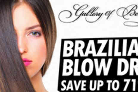 Gallery Of Beauty - Experience frizz free, hassle free tresses with a Brazilian Blow Dry treatment - Save 71%