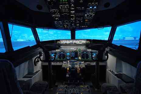 Jet Sim School - 30 minute flight simulation experience - Save 0%