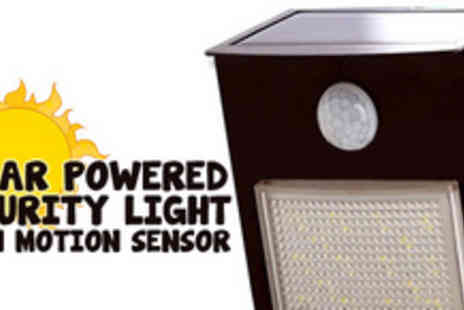 ADASK Trading - Light up the night with this solar powered LED security light - Save 55%