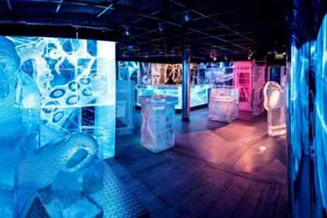 Ice Bar London - Ice Bar Entry including 3 Course Meal & Champagne - Save 38%