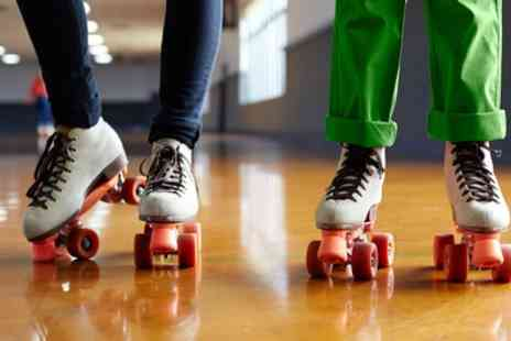 Roller City Rochdale - Roller Skating Entry and Hire for Two - Save 70%